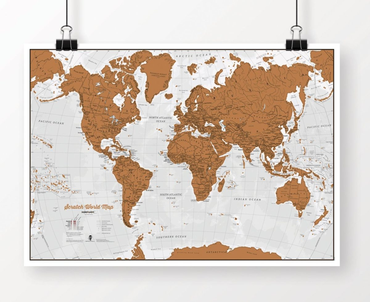 Shop live like its the weekend scratch off map amazon gumiabroncs Gallery