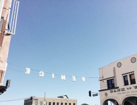 Venice Sign, Venice Beach, CA