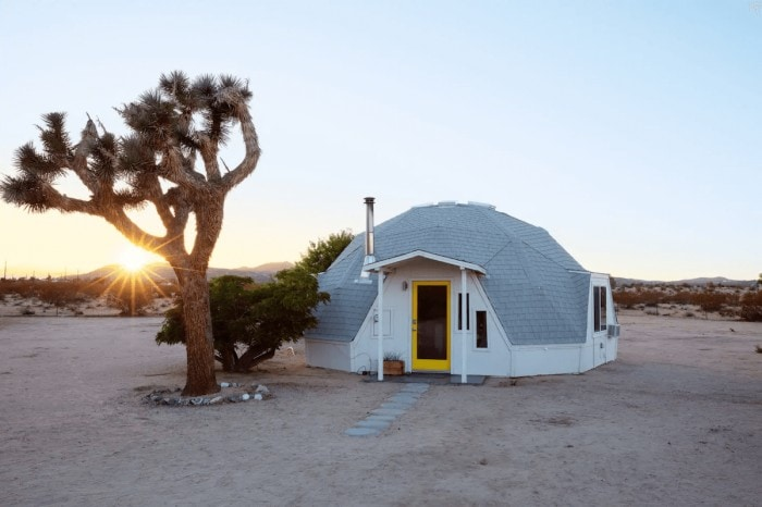 Dome in the Desert airbnb rental in Joshua Tree