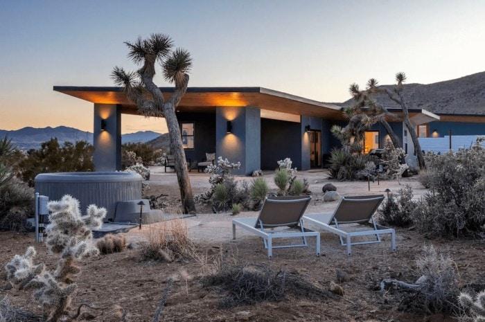 The Gaslight Joshua Tree airbnb rental