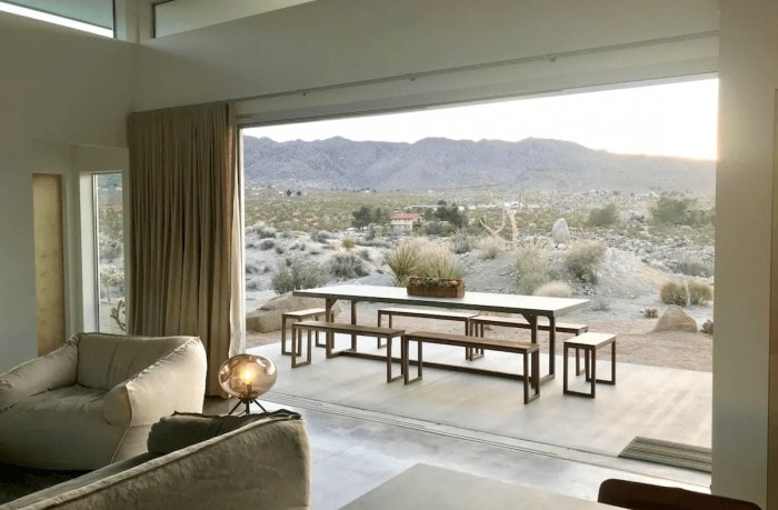 Skyhouse Joshua Tree luxury airbnb