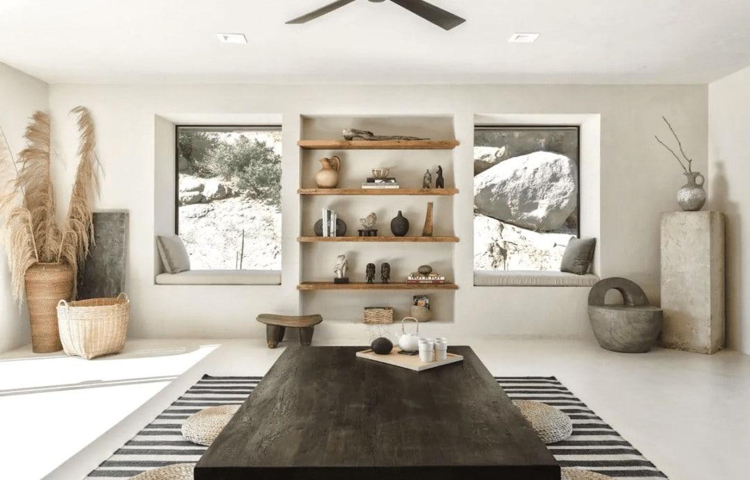 Villa Kuro design centric airbnb