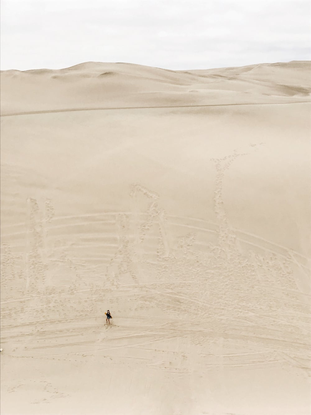 Sand Boarding in Huacachina