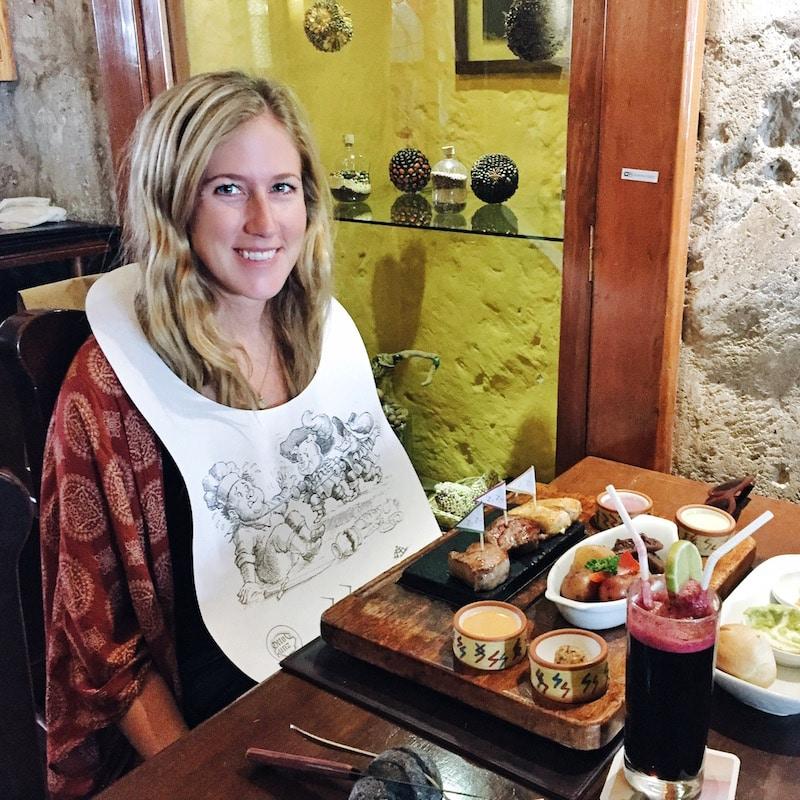 Zig Zag restaurant, Arequipa, Peru