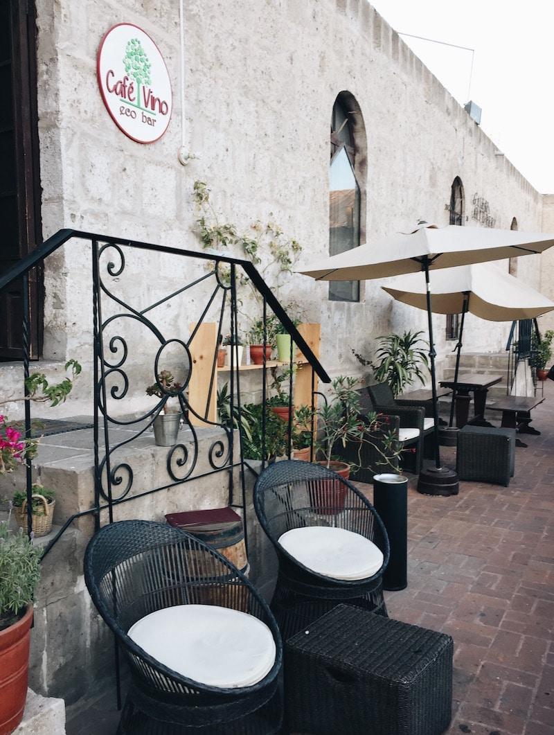 Cafe Vino, Arequipa, Peru