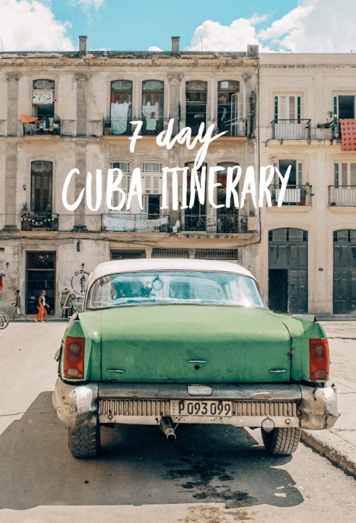 7 Day Cuba Itinerary | Trinidad, Cuba | Vinales, Cuba | Havana, Cuba | Cuba travel tips | What to do in Cuba | How to spend a week in Cuba | 1 Week Cuba itinerary | Cuba travel guide