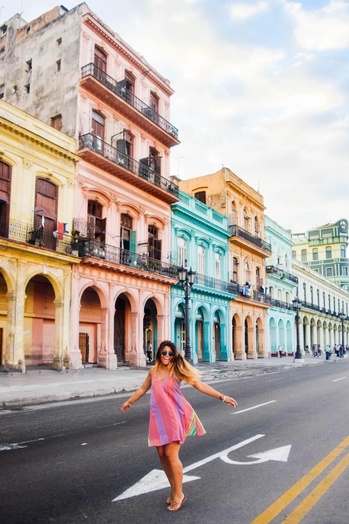 Hannah Rheaume @Hannahrheaume in Havana, Cuba