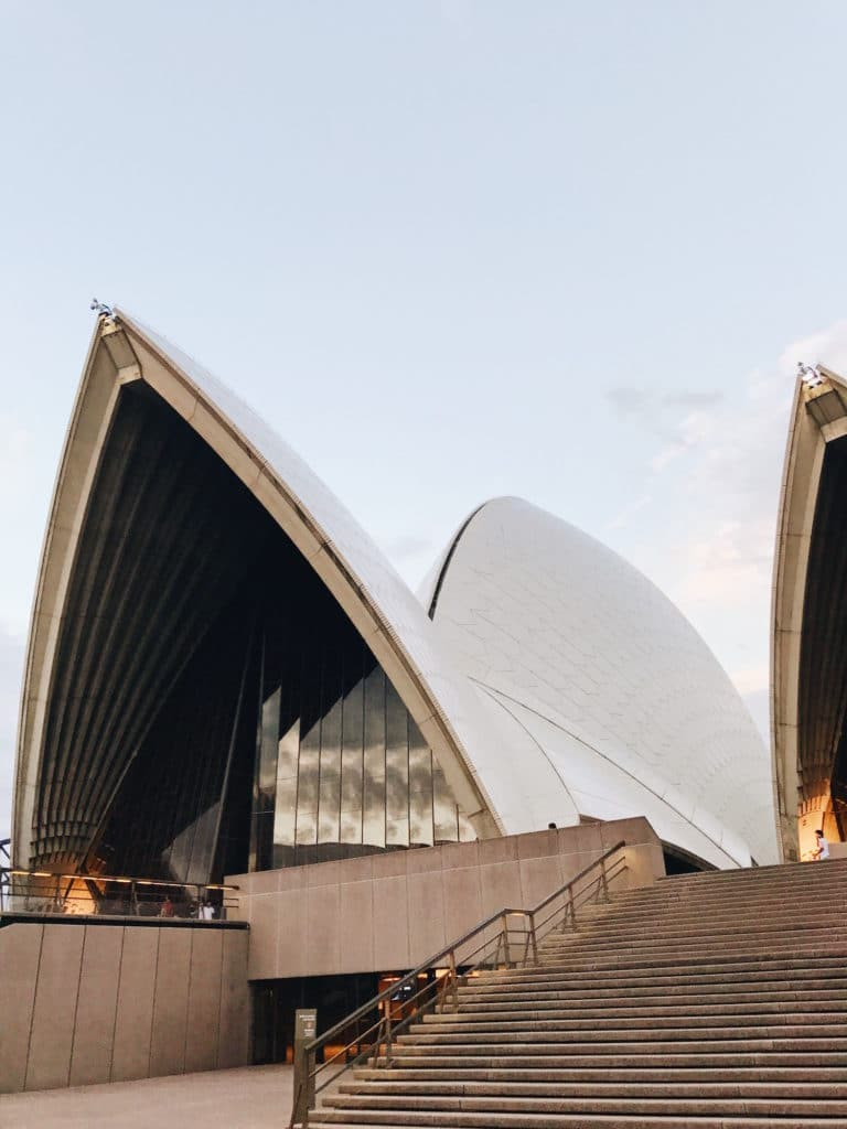 The Sydney Opera House in Sydney, Australia is a must-do during your visit.