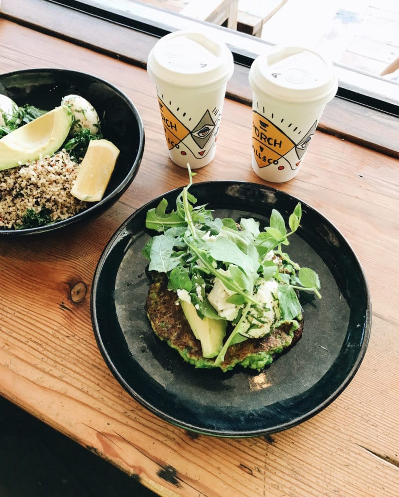 Porch and Parlour is a brunch favorite in the Bondi neighborhood of Sydney, Australia.