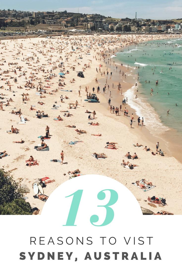 13 Reasons to Visit Sydney, Australia Stat