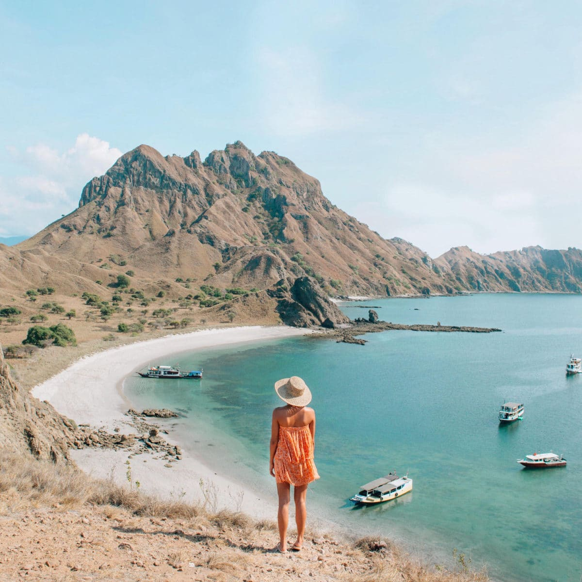 Kimi Juan @KimiJuan at Padar island, Indonesia