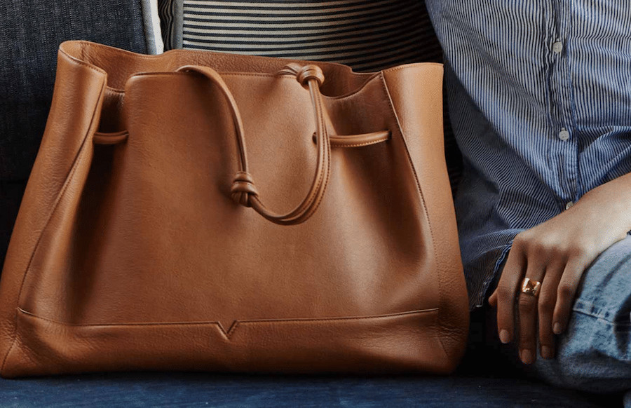 von Holzhausen Tote bags are my go-to work bags for days on the road with my laptop