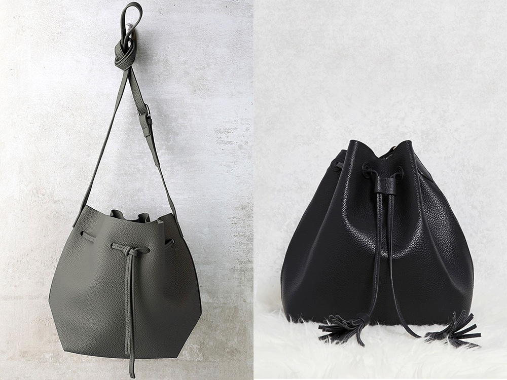Foldable bucket bags that are easy to pack on your travels