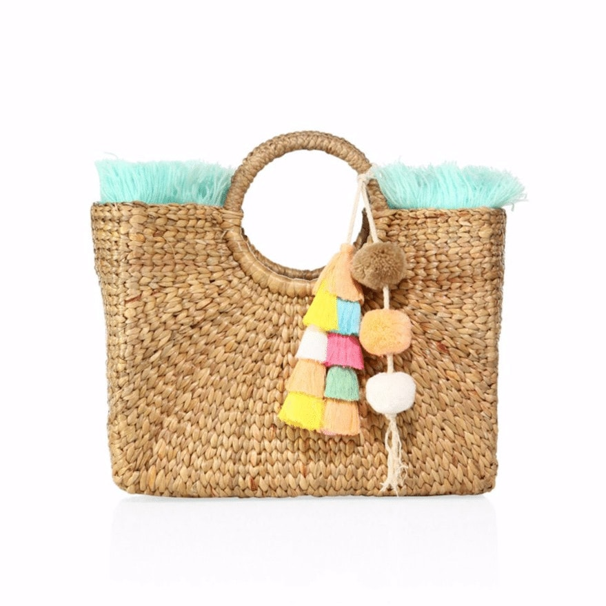 JADEtribe has the colorful and quirky beach bag down pat