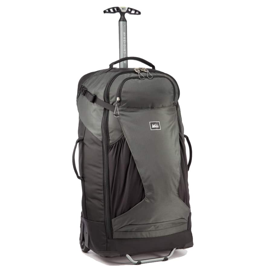 REI's Stratocruiser is my go-to luggage for long-term travel