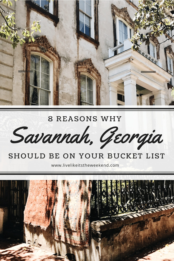 From a thriving design scene to historic charm, Savannah, Georgia is one of my favorite places to travel in the U.S.