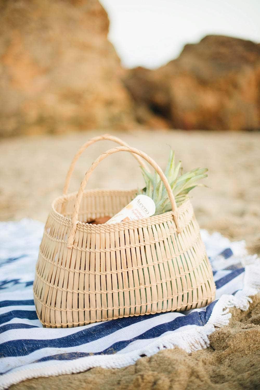 Beach day essentials with Aveeno