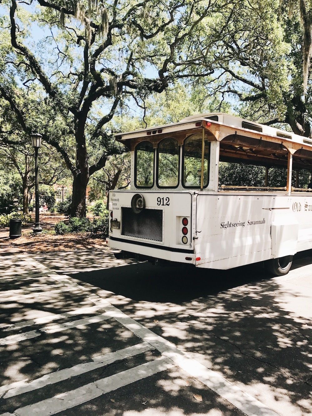 Old Savannah Trolley Tours are a great way to explore the city of Savannah, Georgia