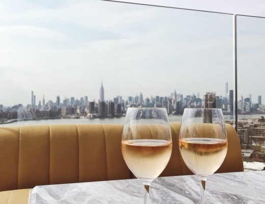Views from the William Vale's rooftop bar Westlight