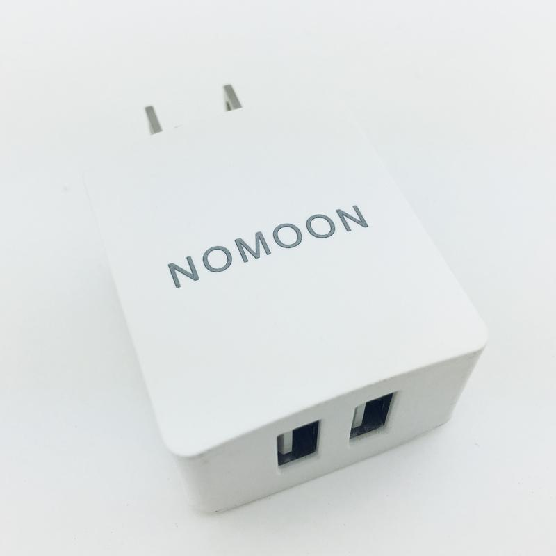 Dual USB charger by NoMoon Travel