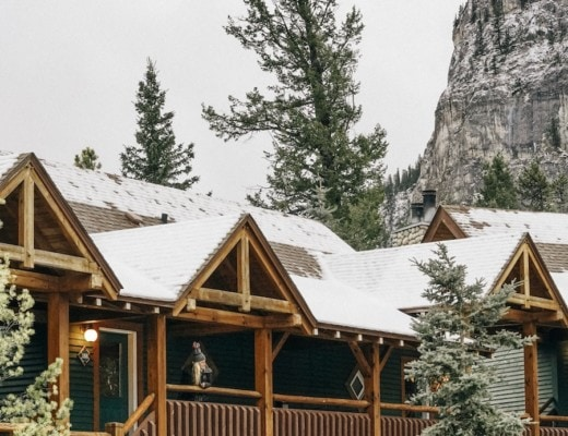 Staying at Buffalo Mountain Lodge Banff, Alberta, Canada