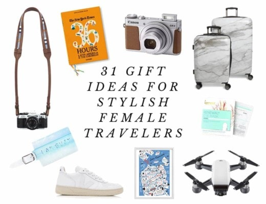 31 Stylish Gift Ideas for Female Travelers, 2017 Edition