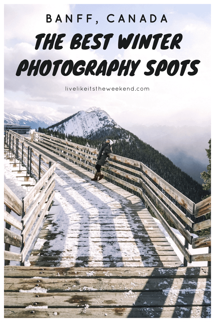 Banff Winter Photography Guide: 12 Spots You Won't Want to Miss
