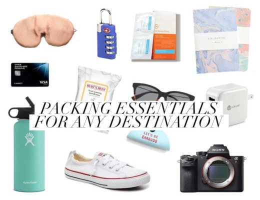 Packing Essentials for Any Destination: 27 Things I Never Travel Without