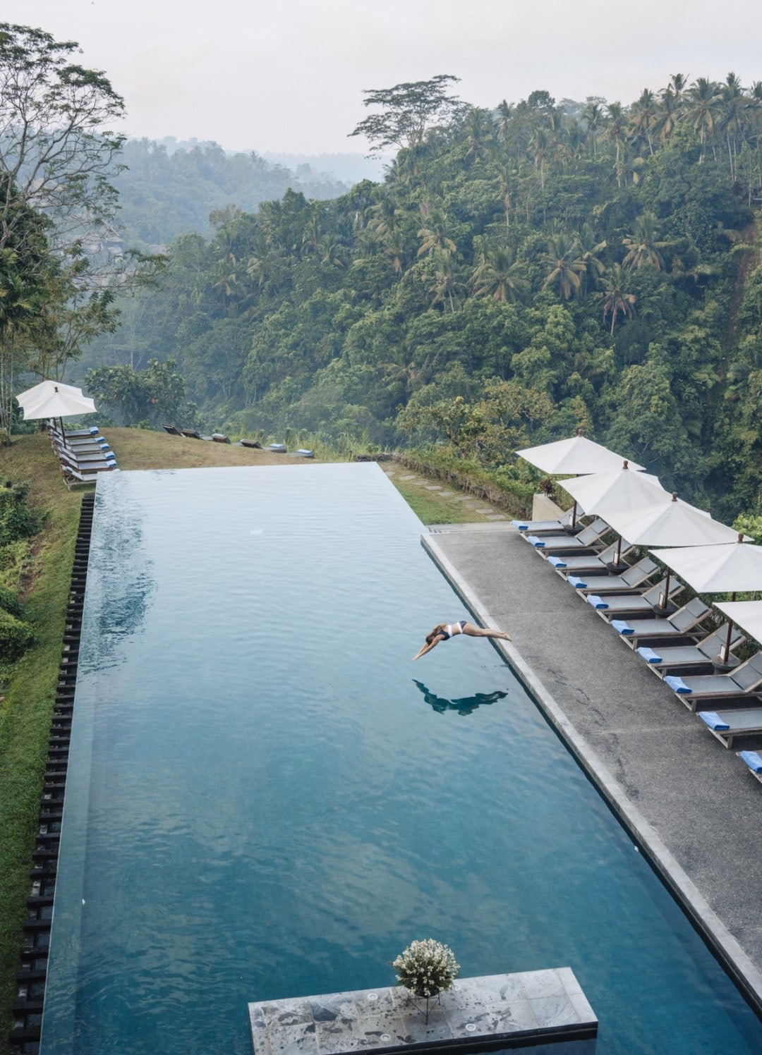 Staying at the Alila Ubud in Bali, Indonesia