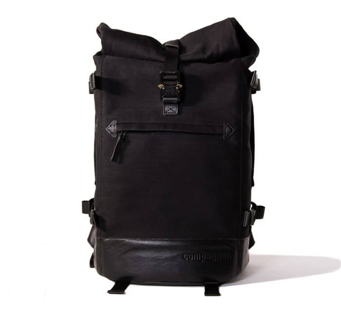 Roll top camera backpack -stylish camera bags for women