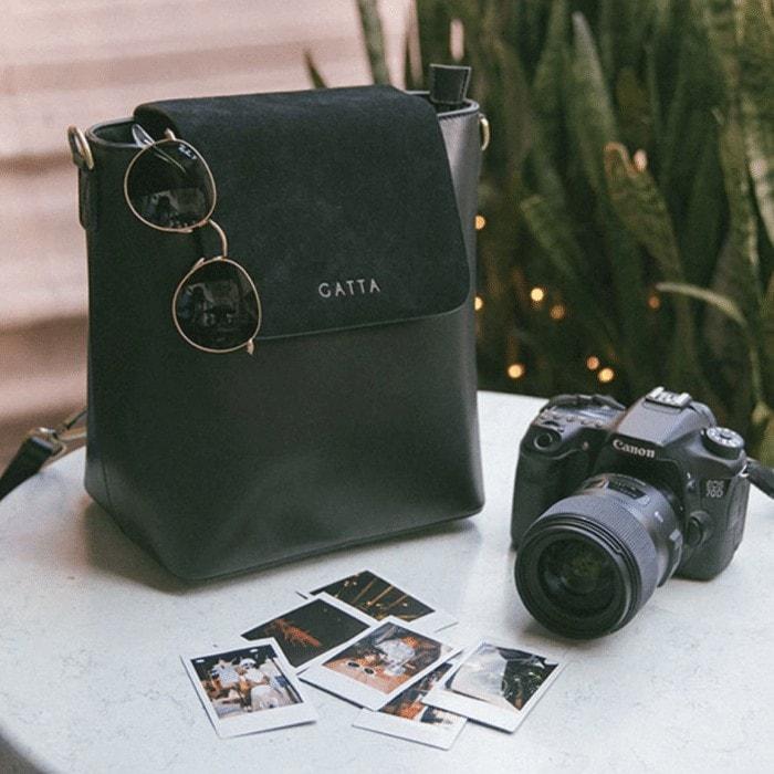 Stylish camera bags for women - the Gatta Bag