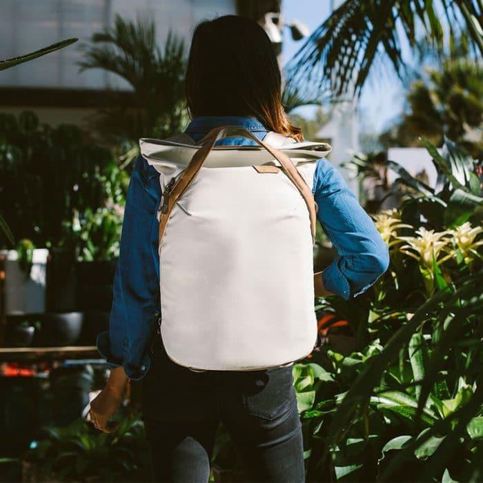 Peak design camera backpack totepack