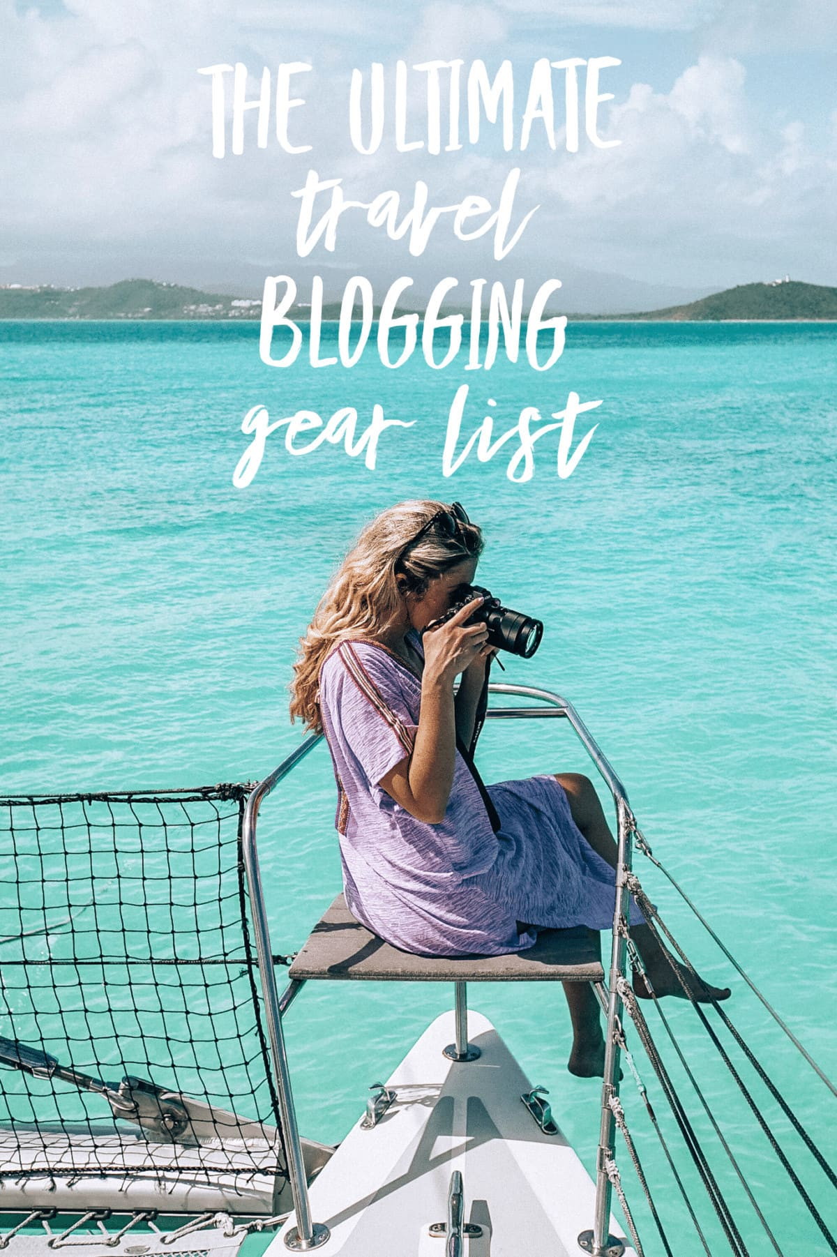 Travel Blogging Gear List! All My Tech + Camera Gear, 2018 Edition (Plus Links!)