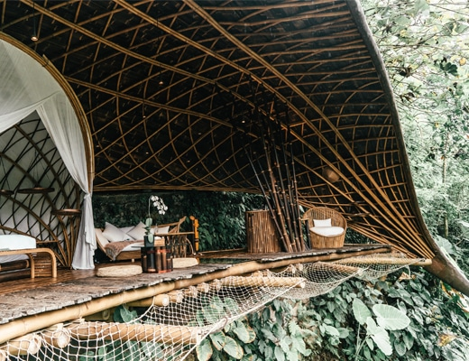 Staying in One of the Most Beautiful Treehouse Hotels in the World - Bambu Indah, Bali