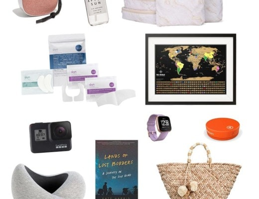 47 Holiday Gift Ideas for Stylish Female Travelers - 2018 Edition