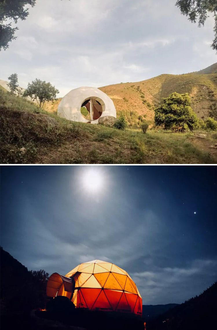The Most Beautiful and Epic Airbnbs Worth Traveling For in 2019 | Geodesic dome house Airbnb in Chile | Epic Airbnb rentals | Most beautiful Airbnb rentals around the world | Coolest Airbnbs around the globe | Unique Airbnbs | Best Airbnbs to rent in 2019 | Airbnb design | Airbnb tips | Airbnb Ideas