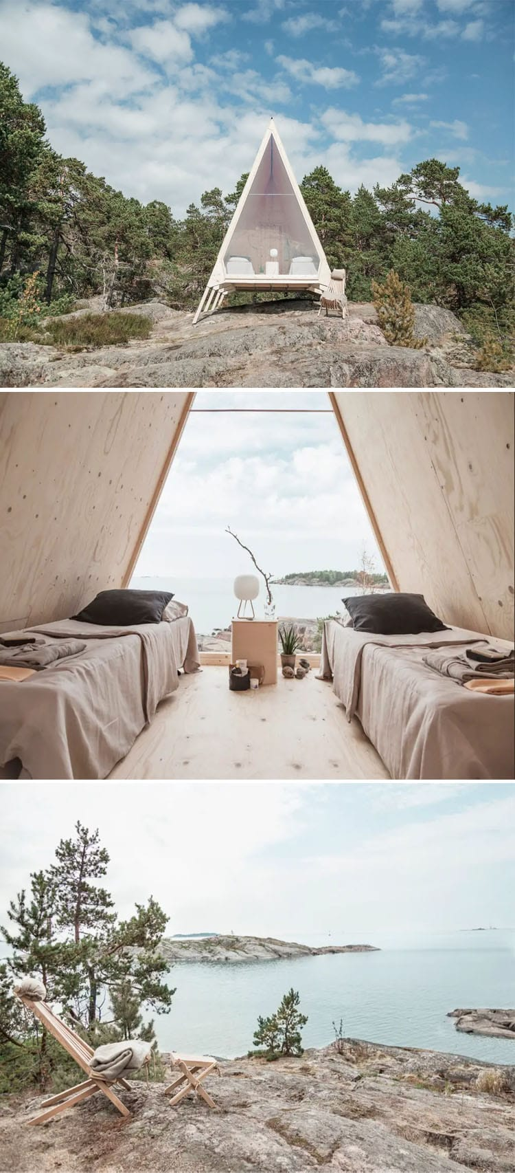 The Most Beautiful and Epic Airbnbs Worth Traveling For in 2019 | Finland A-frame Airbnb by the sea | Epic Airbnb rentals | Most beautiful Airbnb rentals around the world | Coolest Airbnbs around the globe | Unique Airbnbs | Best Airbnbs to rent in 2019 | Airbnb design | Airbnb tips | Airbnb Ideas