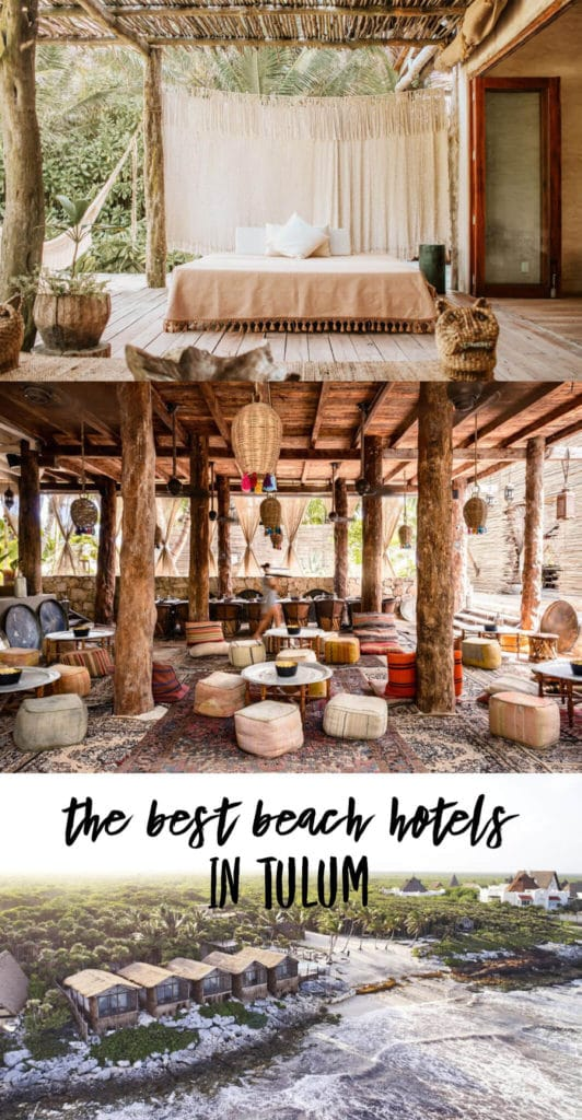 The Most Magical Tulum Beach Hotels You Can't Miss (Plus Map!) | Best hotels Tulum | Tulum boutique hotels | Tulum Mexico map | Where to stay in Tulum | Places to stay in Tulum | Best Tulum hotels on the beach | Tulum, Mexico | Travel tips Tulum | Tulum 2019 | Tulum travel | Tulum accommodation | Wellness retreats Mexico | Pool hotels Tulum |