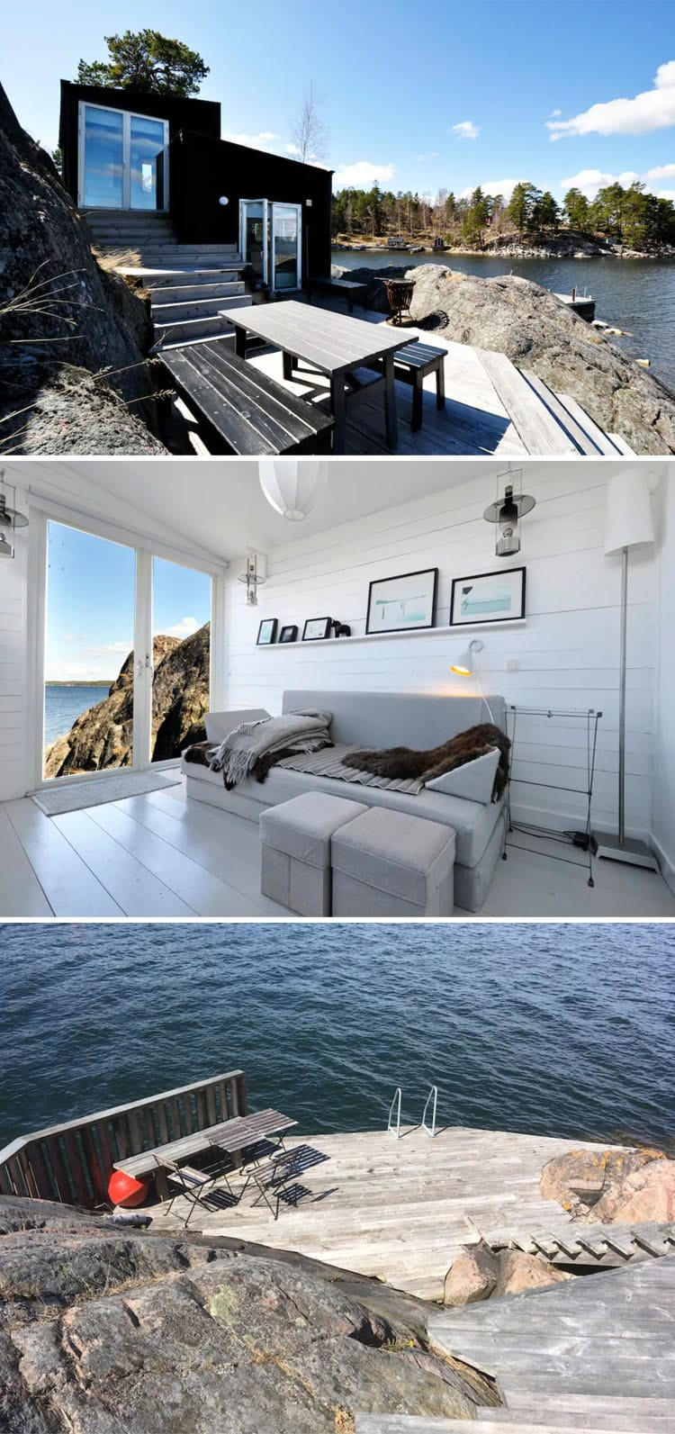 The Most Beautiful and Epic Airbnbs Worth Traveling For in 2019 | Stockholm seaside Airbnb | Epic Airbnb rentals | Most beautiful Airbnb rentals around the world | Coolest Airbnbs around the globe | Unique Airbnbs | Best Airbnbs to rent in 2019 | Airbnb design | Airbnb tips | Airbnb Ideas