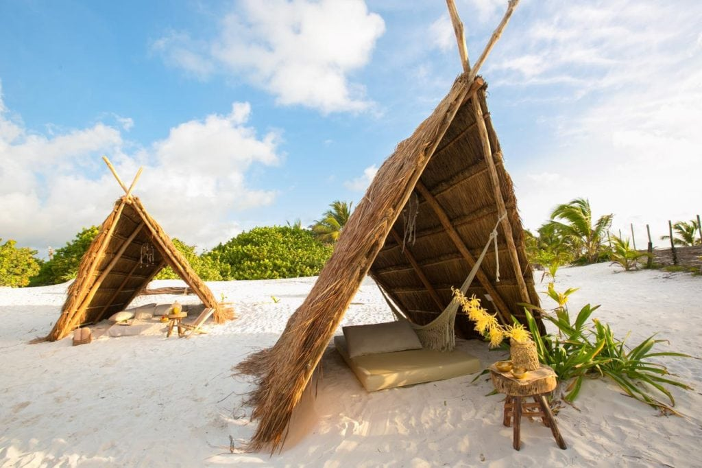 The Most Magical Tulum Beach Hotels You Can't Miss (Plus Map!) Ikal Tulum | Yoga hotels | Best hotels Tulum | Tulum boutique hotels | Tulum Mexico map | Where to stay in Tulum | Places to stay in Tulum | Best Tulum hotels on the beach | Tulum, Mexico | Travel tips Tulum | Tulum 2019 | Tulum travel | Tulum accommodation | Glamping | Bucket list hotels |