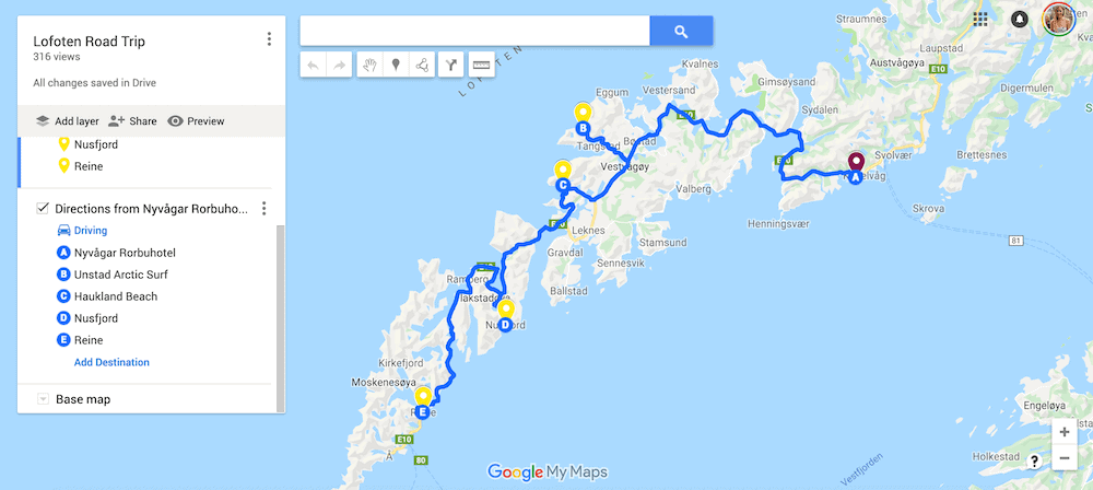 A Step-by-Step Guide to Planning an Epic Trip With Google Maps Google maps trip planner | How to plan an itinerary | Group trip planner | Best trip planner | Vacation itinerary planner | Best route planner | How to create custom Google maps | Google My Maps | Trip planning tools | Travel planning |