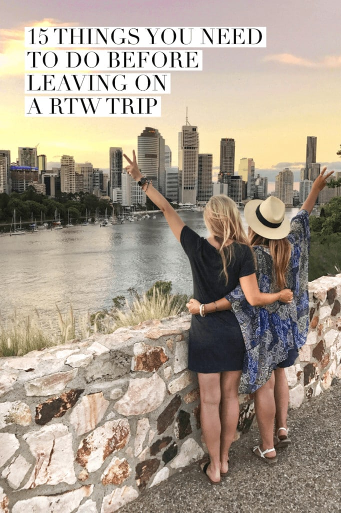 15 Practical Things You Need to Do Before Leaving on a RTW Trip | RTW trip planning | Tips for RTW trip | How to plan a RTW trip | Round the world trip |