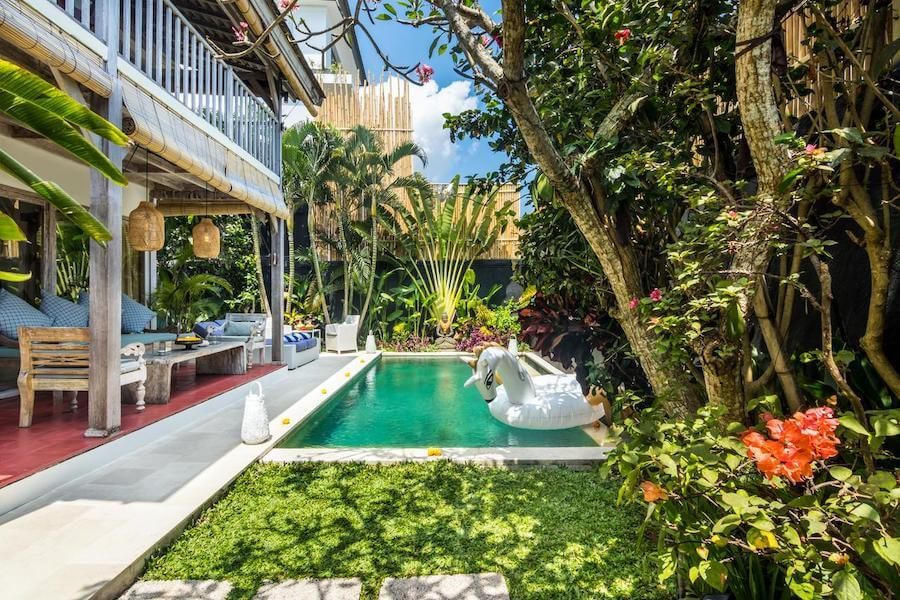 10 Gorgeous Affordable Canggu Villas To Book In Bali Live Like It S The Weekend