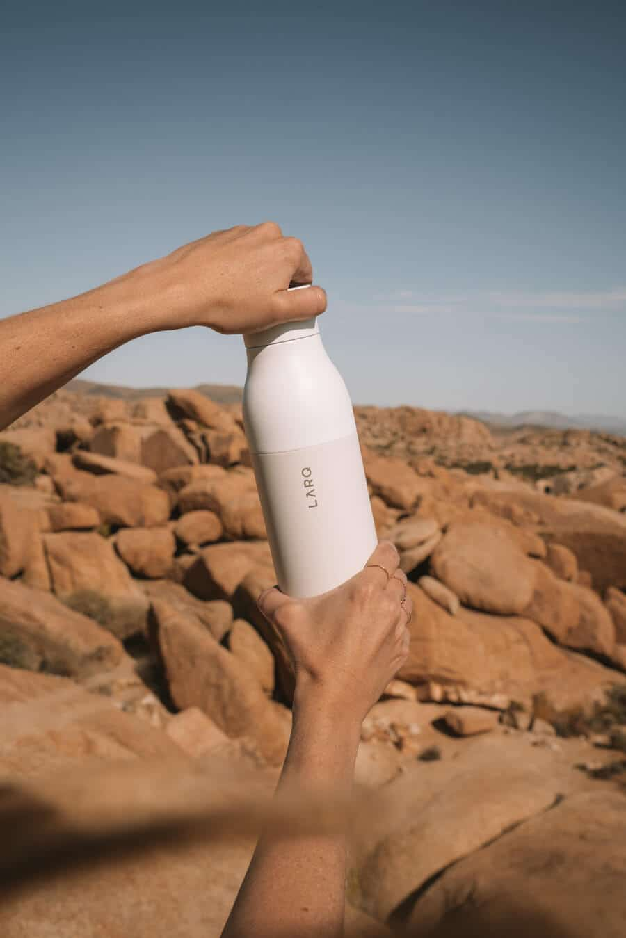 The Best Water Bottle For Travel That Cleans Itself!