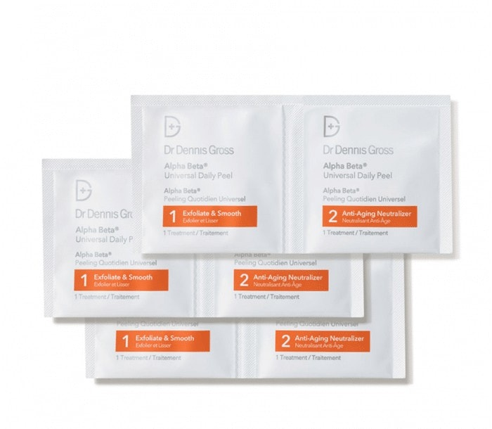 stylish travel gifts for women - dennis gross peel pads