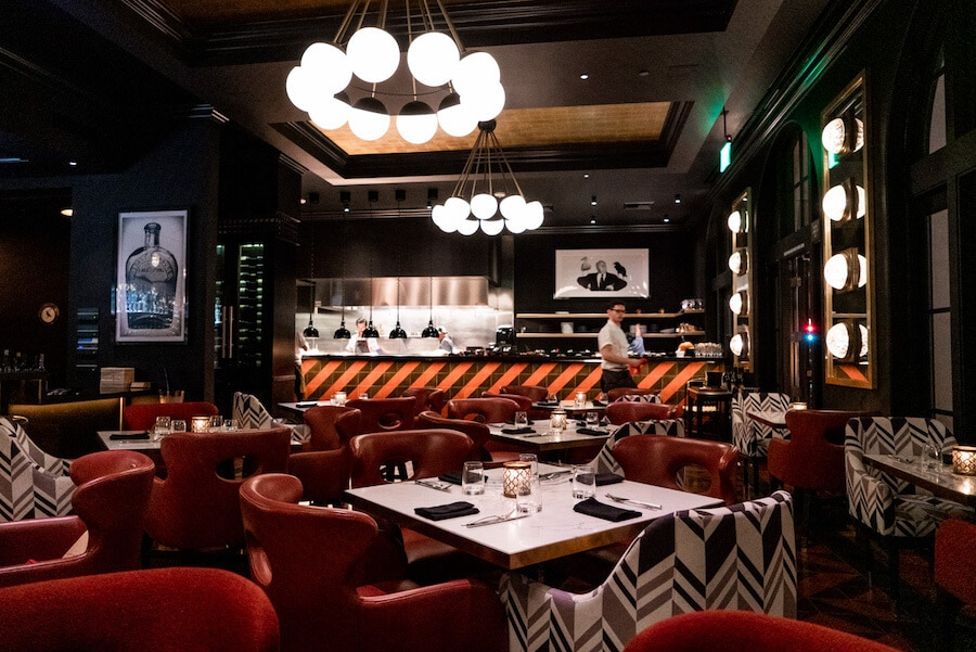 Blackbird Restaurant at the Hotel Californian in Santa Barbara, California