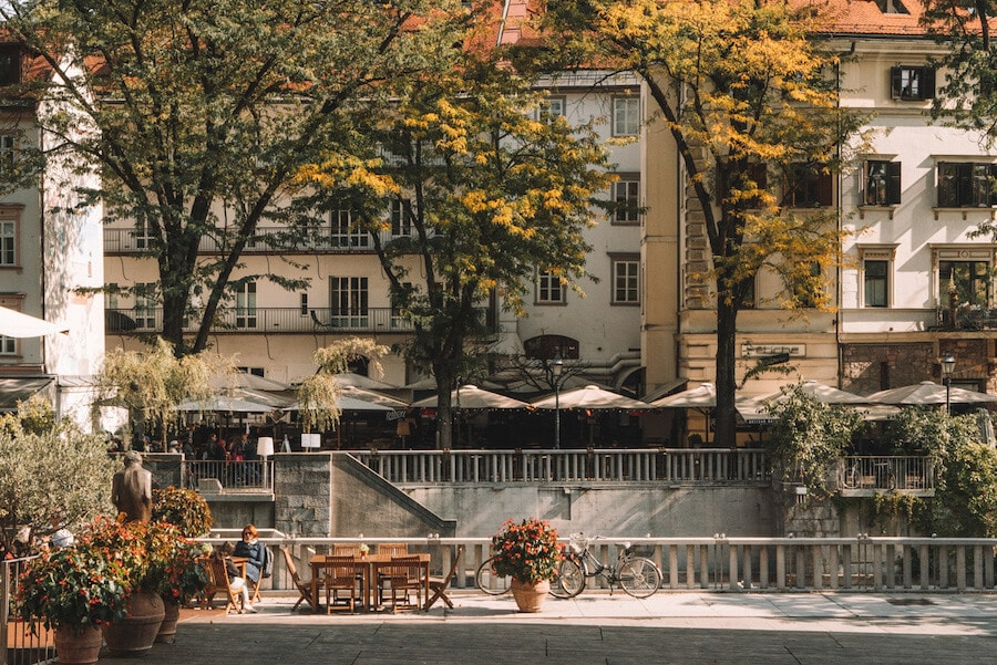 Riverfront, Ljubljana