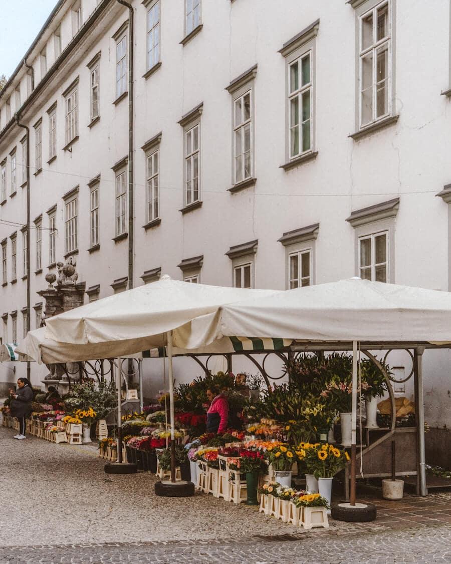 Markets in Ljubljana