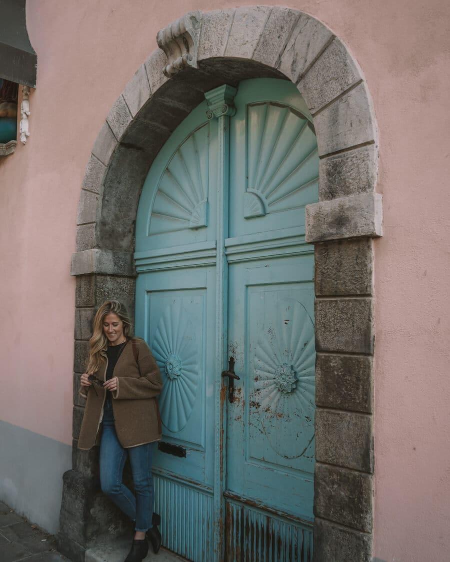 Doorways of Ljubljana, Slovenia