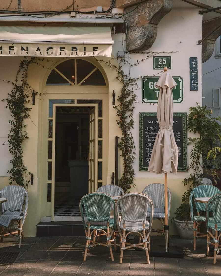 Ljubljana, Slovenia cafes